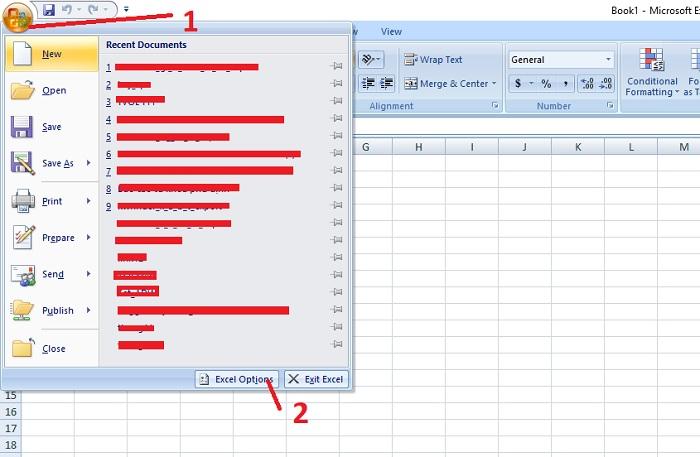 cách đổi dấu phẩy thành dấu chấm trong excel 2007