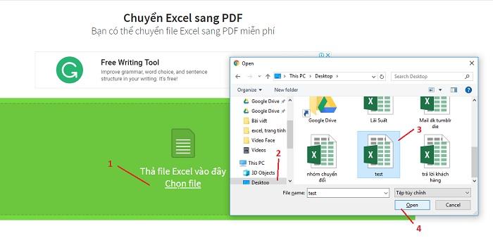 3 Cách chuyển đổi Excel sang PDF giữ nguyên định dạng, KHÔNG LỖI
