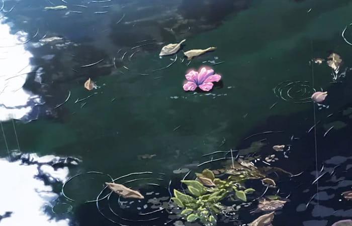 hoa rơi hữu ý, nước chảy vô tình