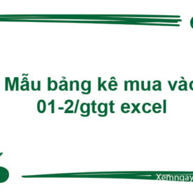 mẫu bảng kê mua vào 01-2/GTGT