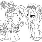 Tuyển tập tranh tô màu pony